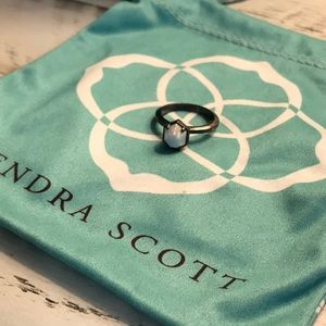 KENDRA SCOTT KYOCERA OPAL CUSTOM RING